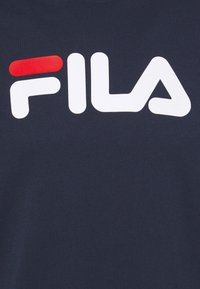 Fila - PURE TEE - Camiseta estampada - black iris - 4