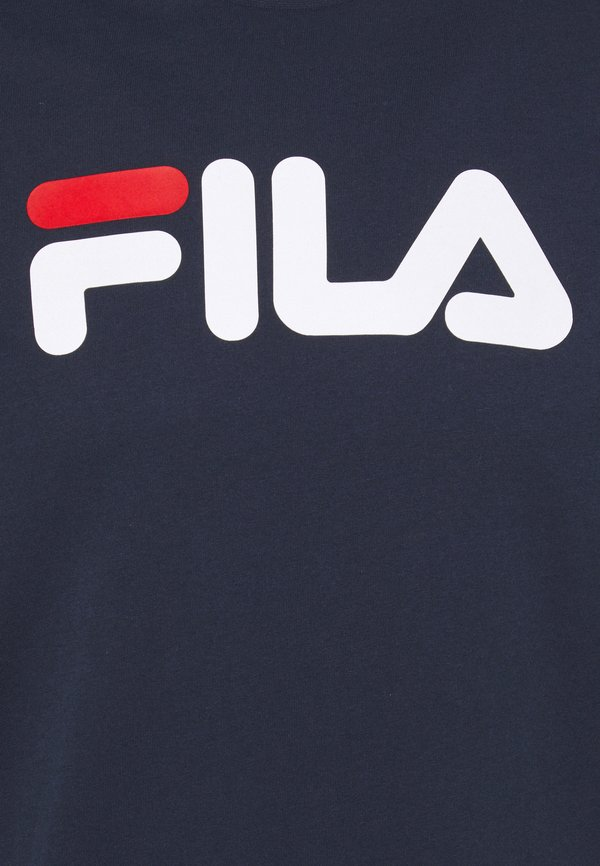 Fila PURE TEE - T-shirt z nadrukiem - black iris/granatowy Odzież Męska GXHS