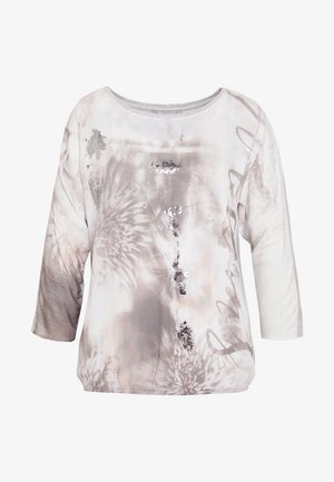 Bluse - white/silver