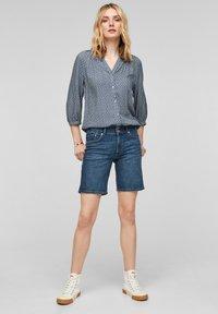 s.Oliver - Denim shorts - medium blue - 1