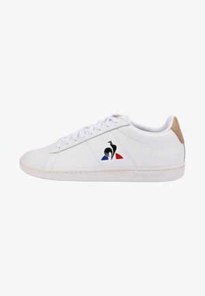 COURTSET - Sneakers laag - white, beige