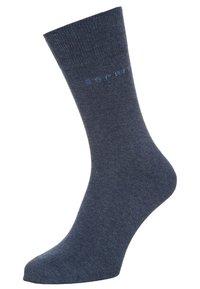 Esprit - SOLID-MIX 5-PACK - Ponožky - blue - 1