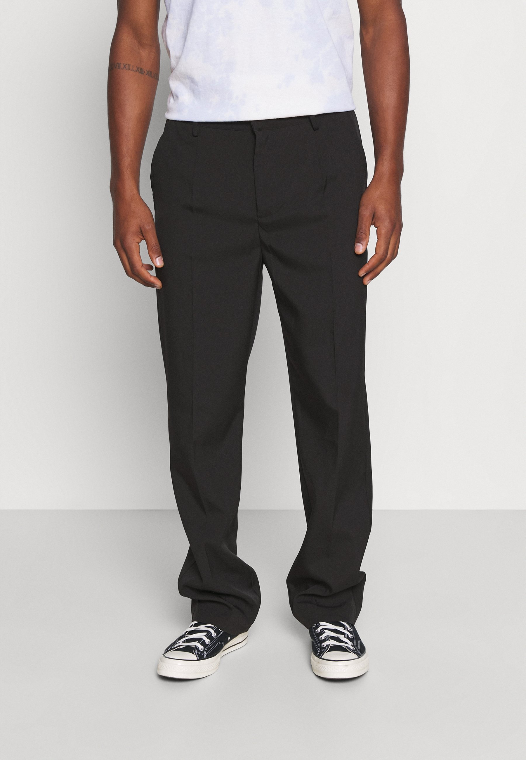 Homme MIRROR CHAIN TROUSER - Pantalon classique
