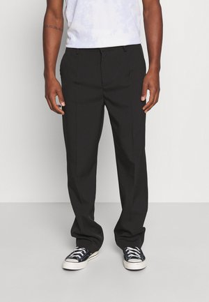 MIRROR CHAIN TROUSER - Trousers - black
