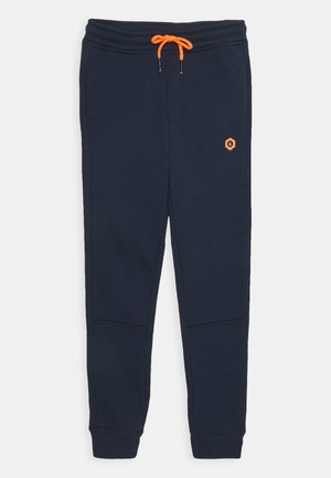 JJIVISUAL PANTS  - Tracksuit bottoms - navy blazer