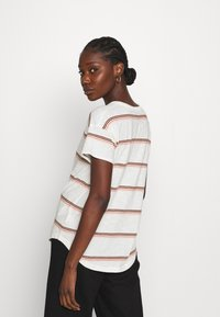 Madewell - SORREL WHISPER CREWNECK TEE IN SCAR STRIPE - Print T-shirt - lighthouse - 2