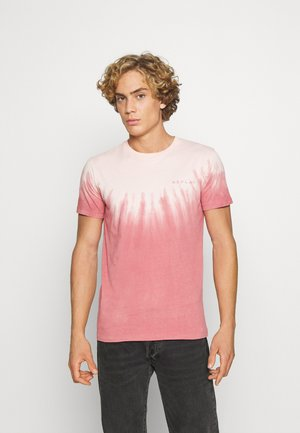 Print T-shirt - rose white