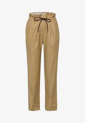 STYLE MILLA  - Pantalon classique - sand
