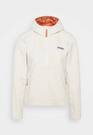 NORTHERN REACH SHERPA ANORAK - Fleece jumper - chalk
