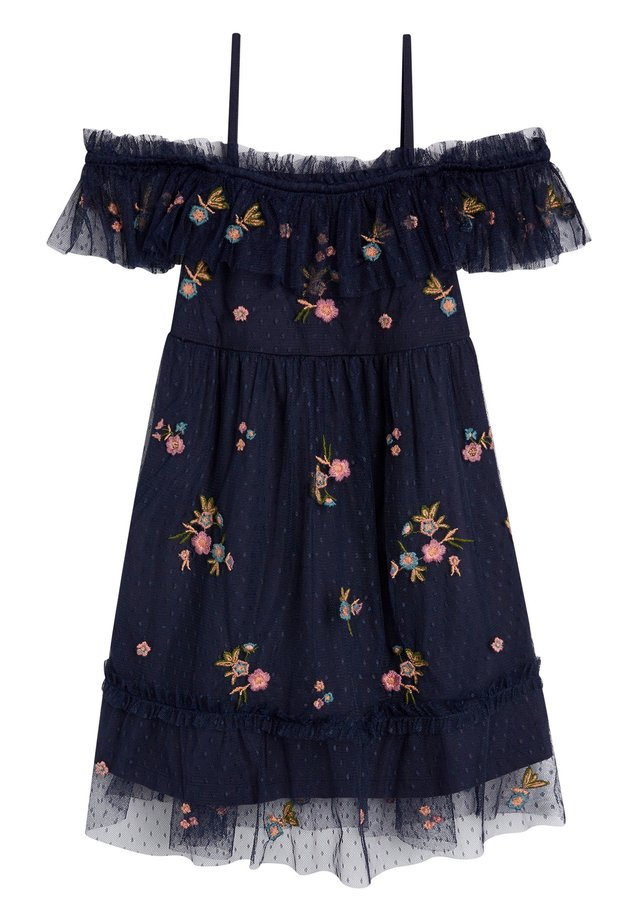 OFF SHOULDER - Denní šaty - blue