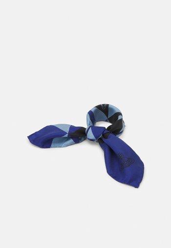 MANDALA SCARF - Foulard - blue