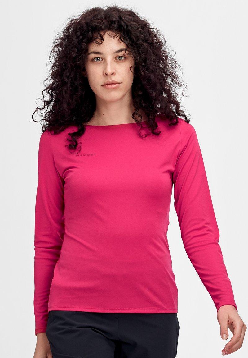Mammut - LONGSLEEVE - Sports shirt - sundown melange