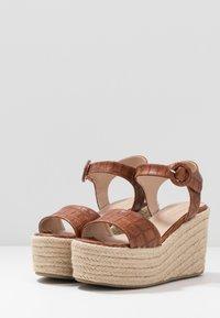 Tata Italia - High heeled sandals - camel - 4