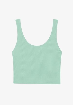 CROPPED - Top - turquoise