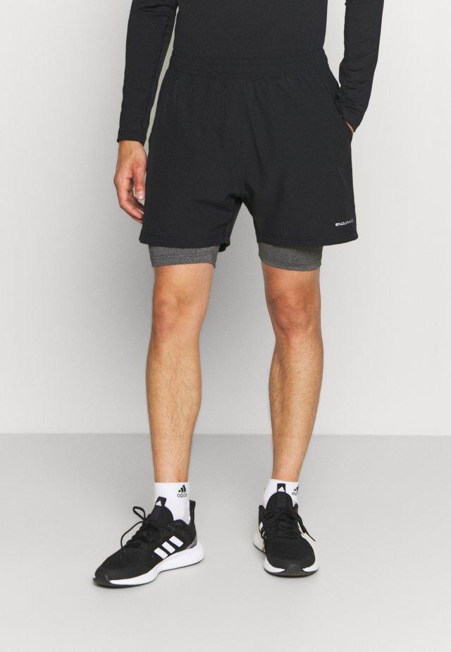 GATUN SHORTS - Short de sport - black