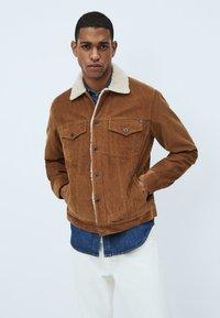 Pepe Jeans - PINNER DLX - Winterjas - marrón tan - 0