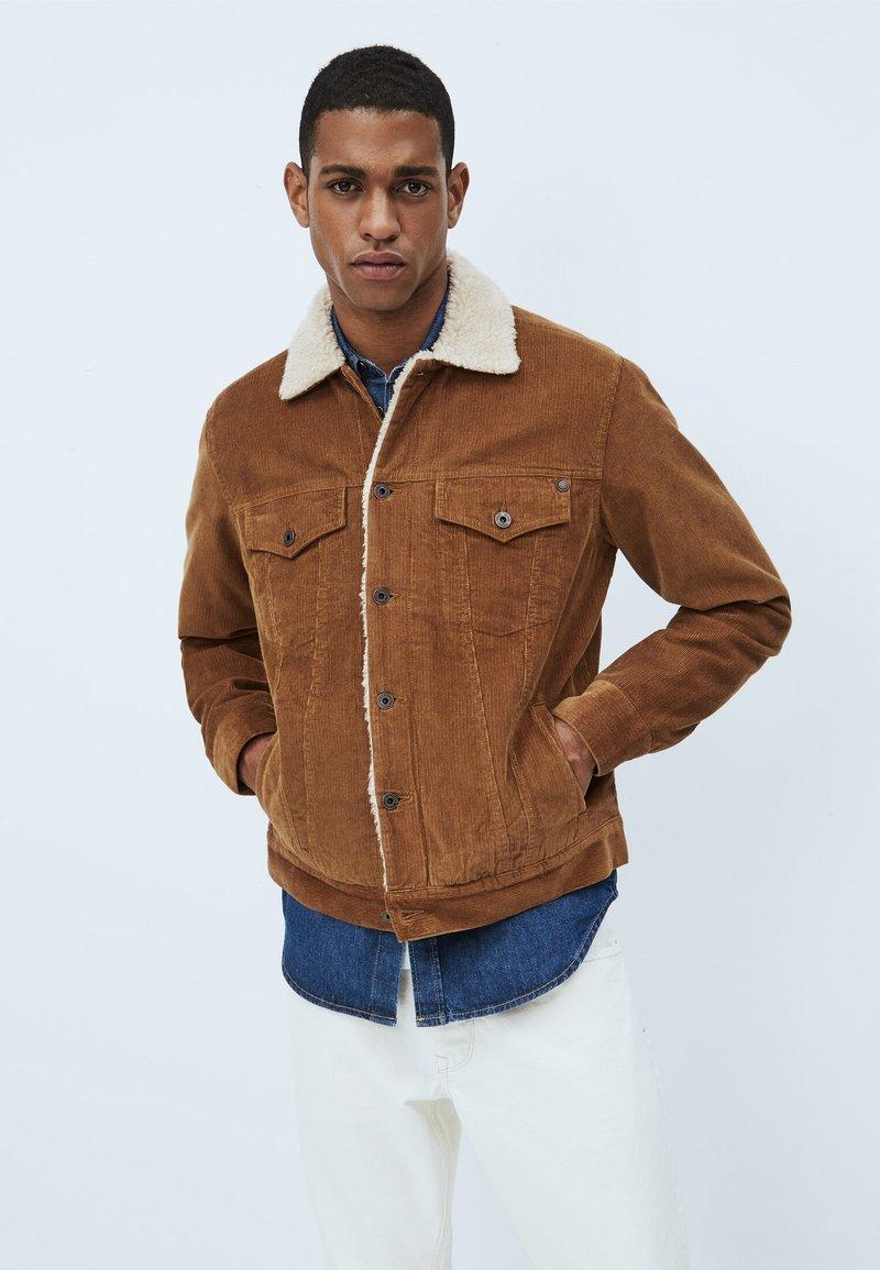 Pepe Jeans - PINNER DLX - Winterjas - marrón tan