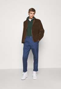 Polo Ralph Lauren - LONG SLEEVE SPORT - Vapaa-ajan kauluspaita - cooper brown - 0