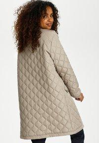 Cream - ARWENCR - Winter coat - silver mink - 1