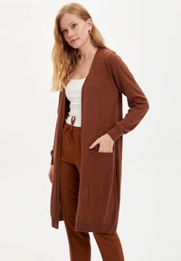 DeFacto - Strickjacke - brown - 3