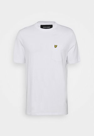 RELAXED POCKET - T-shirt - bas - white