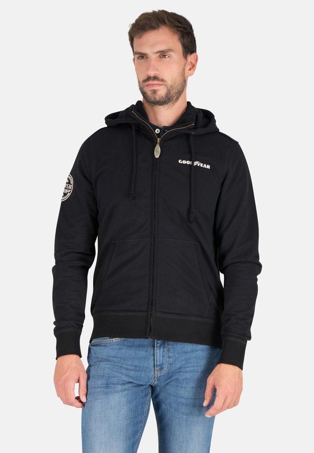 RICHMOND - Zip-up hoodie - black