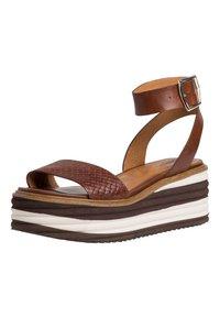 Tamaris - Platform sandals - cafe - 2