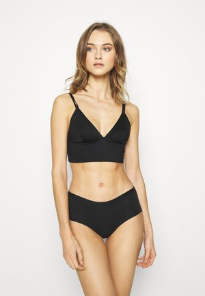 EVERYDAY BONDED LONGLINE BRALETTE 2 PACK - Bustier - black/frappe