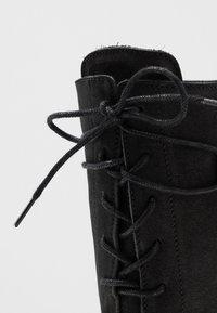 Felmini - CASTER - Lace-up boots - black - 2