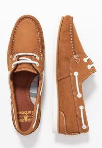 Barbour - BOWLINE BOAT - Boat shoes - tan - 3