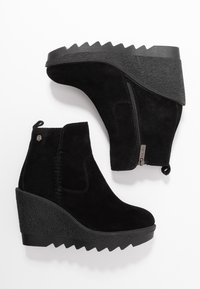 Carmela - High heeled ankle boots - black - 3