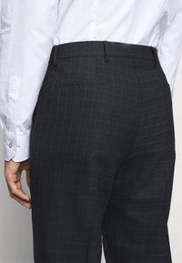 PS Paul Smith - MENS TROUSER WIDE LEG - Suit trousers - black - 4