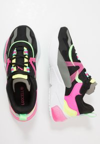 Puma - LQDCELL OPTIC PAX - Sports shoes - black/ultra gray - 1