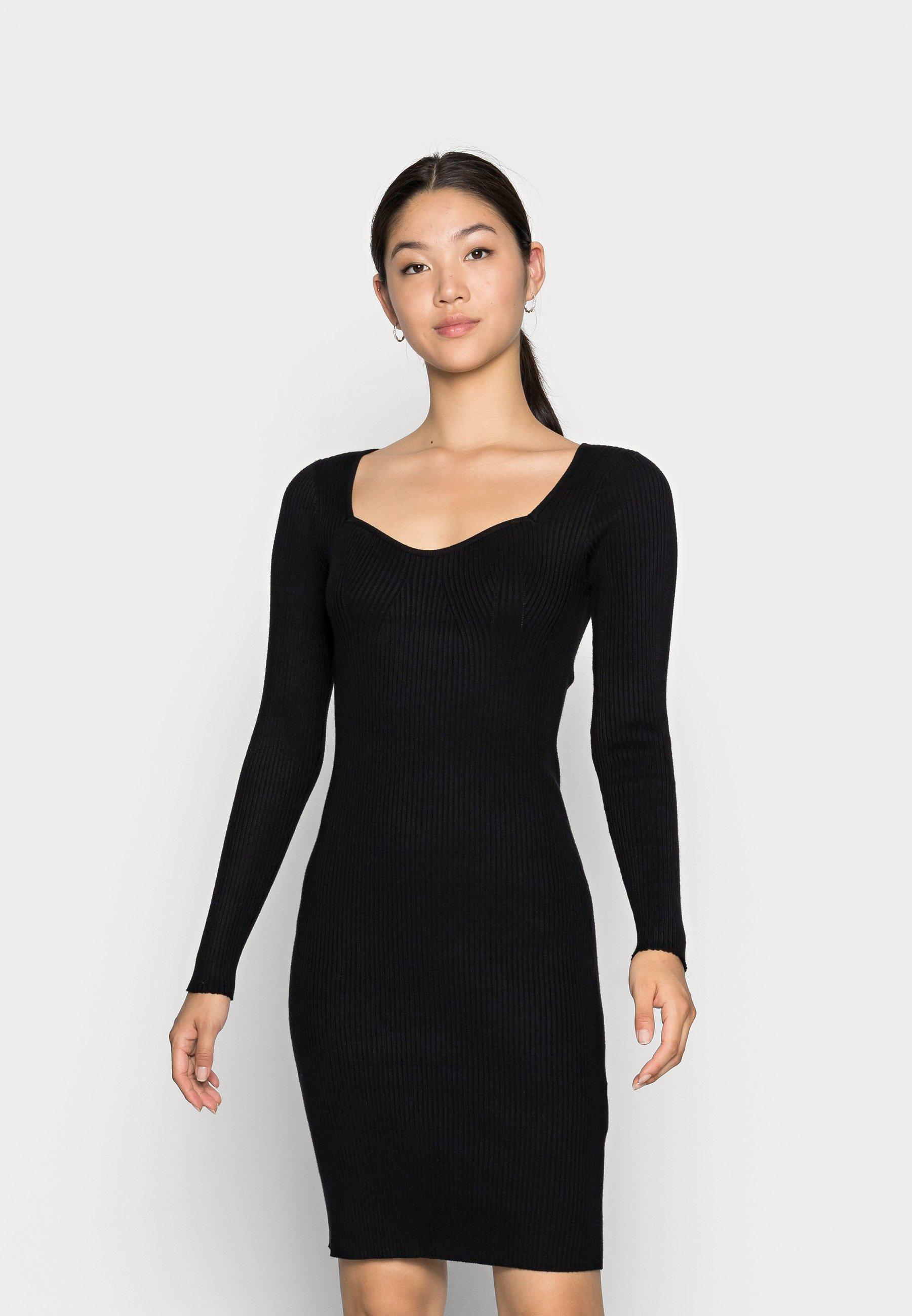 Women VMWILLOW SWEETHEART DRESS - Jumper dress