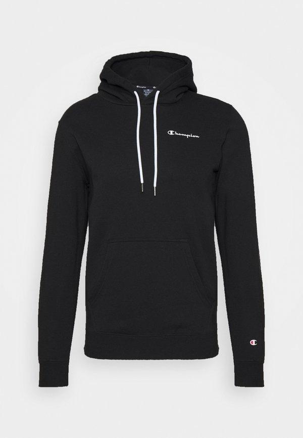 Champion LEGACY HOODED - Bluza z kapturem - black/czarny Odzież Męska ZOQE