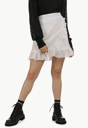 Zavinovací sukně - wollweiss