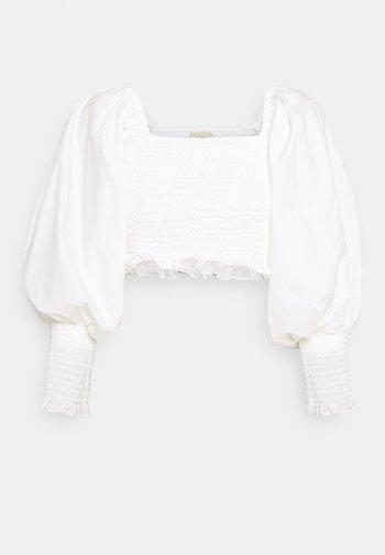 SMOCKED - Bluzka - off-white