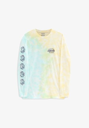 MN THE VANS EXPERIENCE TIE DYE LS - T-shirt à manches longues - porcelngrn/gldnglw/tiedye