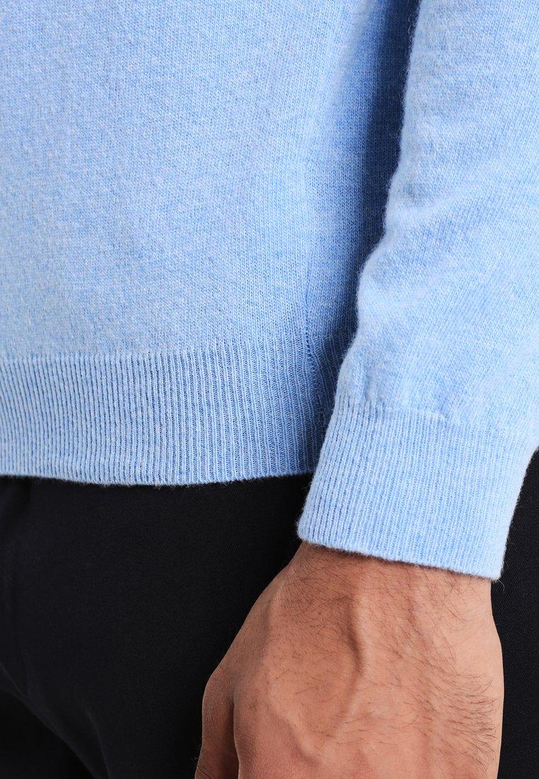Benetton BASIC ROLL NECK - Jersey de punto - hellblau 9hoPr
