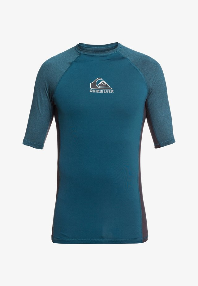 BACKWASH - T-shirt de surf - majolica blue heather