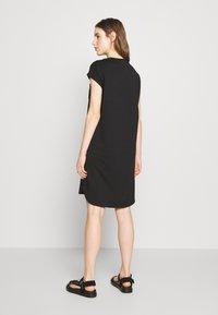 DKNY - FOUNDATION LOGO DRESS - Day dress - black - 2