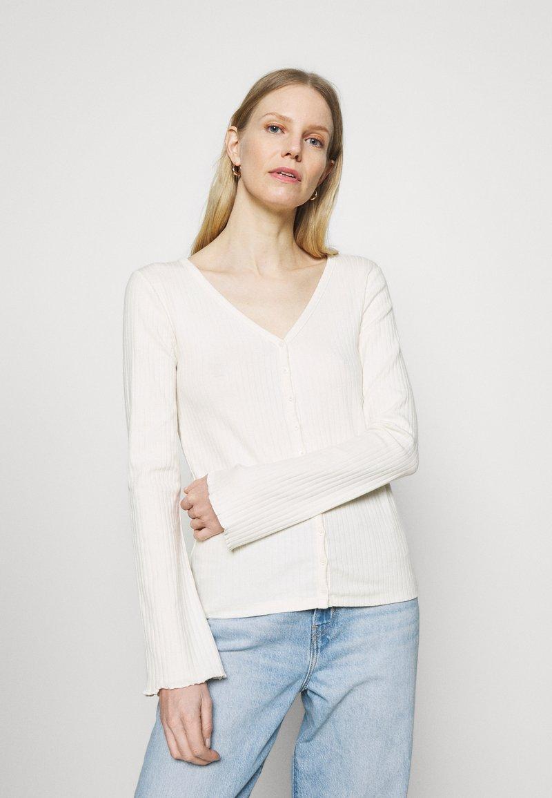 GAP - CARDI - Cardigan - antique white