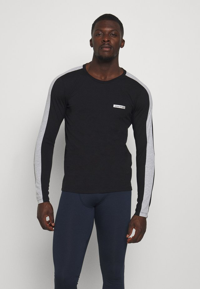 JCOZ SPORT TEE - Long sleeved top - black