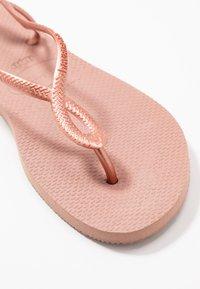 Havaianas - LUNA - T-bar sandals - crocus rose - 4