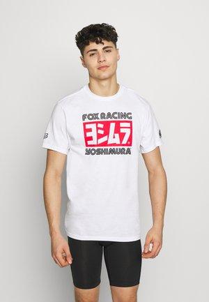 YOSHIMURA HONDA TEE - T-Shirt print - white