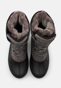 CMP - KINOS WP - Winter boots - graffite/nero - 3