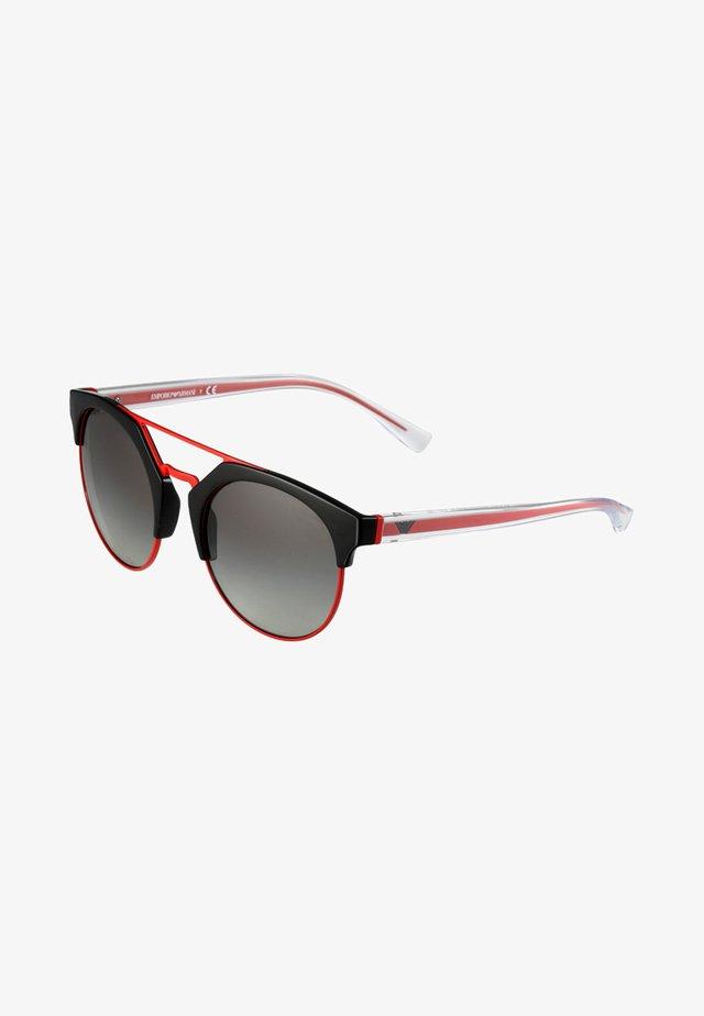 Lunettes de soleil - black/red