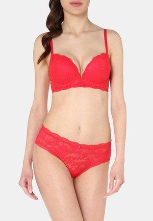 MIA  - Underwired bra - lipstick red