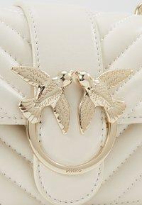 Pinko - LOVE MINI MIX  - Across body bag - white - 6