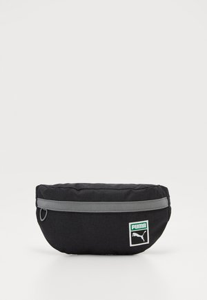 RETRO - Bum bag - black/heather